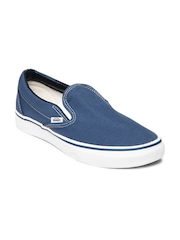 Vans Men Blue Classic Slip On Casual Shoes
