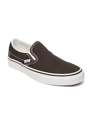 Vans Unisex Brown Classic Slip-On Casual Shoes