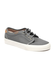 Vans Unisex Grey Vulcanized Casual Shoes