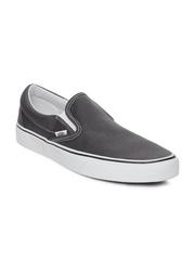 Vans Men Grey Classic Slip-on Casual Shoes