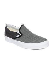 Vans Unisex Grey Suiting Mix Canvas Shoes