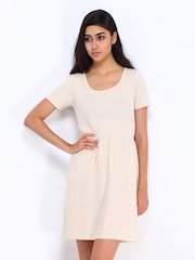 Vero Moda Beige Jersey Dress