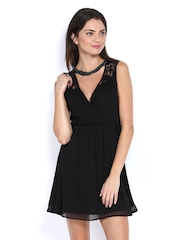 Vero Moda Black Fit & Flare Dress