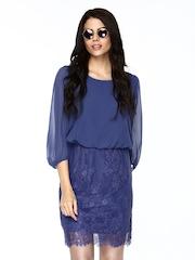 Vero Moda Blue Blouson Dress