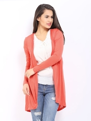 Vero Moda Coral Orange Shrug