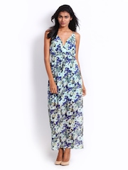Vero Moda Multi-Coloured Floral Printed Maxi Dress