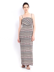 Vero Moda Multi-Coloured Printed Maxi Dress