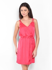 Vero Moda Pink Fit & Flare Dress