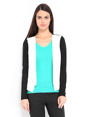 Vero Moda White & Black Shrug