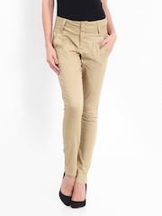 Vero Moda Women Beige Trousers