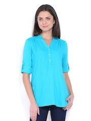 Vero Moda Women Blue Tunic