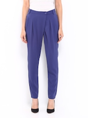 Vero Moda Women Purple Trousers