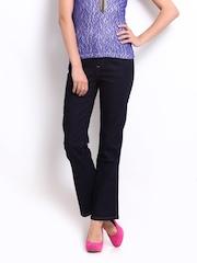 Vero Moda Women Dark Blue Jeans