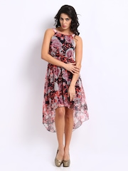 Vero Moda Women Multi-Coloured Floral Print Dress