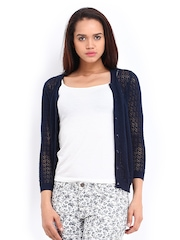 Vero Moda Women Navy Cardigan