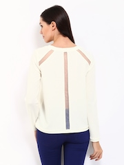 Vero Moda Women Off-White Top
