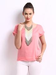Vero Moda Women Pink Top