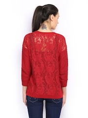 Vero Moda Women Red Top