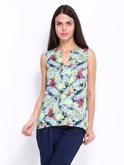 Vero Moda Women Multi-Coloured Printed Top
