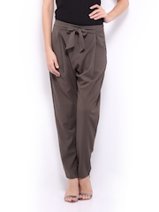 Vero Moda Women Grey Trousers