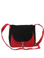 Vogue Tree Red & Black Sling Bag
