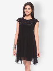 Vovoka Black Shift Dress