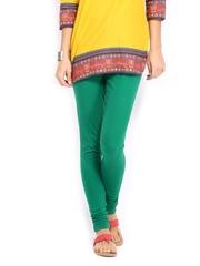 W Women Green Churidar