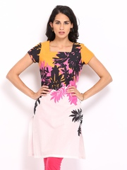 W Women Multi-Coloured Printed Kurta