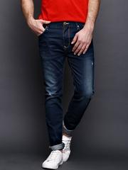 WROGN Men Blue Skinny Fit Jeans