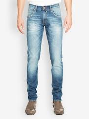 Web Jeans Italy Men Blue Slim Fit Jeans