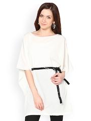 Westhreads Women White Kaftan Tunic