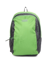 Wildcraft Kids Green & Grey Pluto Backpack