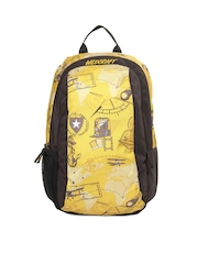 Wildcraft Kids Yellow & Brown Rovo VO Backpack