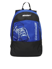 Wildcraft Men Blue & Black Backpack