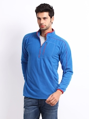 Wildcraft Men Blue Sweatshirt