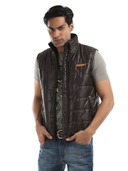 Wildcraft Men Coffee Brown Husky Jacket