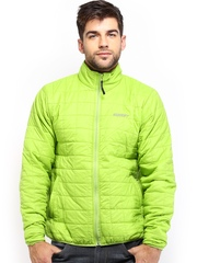 Wildcraft Men Green Padded Husky Packable Jacket
