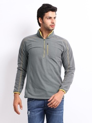 Wildcraft Men Grey Sweatshirt