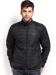 Wildcraft Men Black Padded Husky Packable Jacket