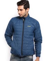 Wildcraft Men Blue Padded Husky Packable Jacket
