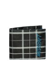 Wildcraft Men Black & Blue Metis Wallet