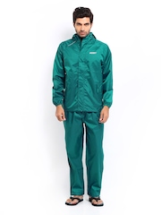 Wildcraft Men Teal Green Clothing Set