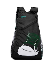 Wildcraft Unisex Black & Green Backpack