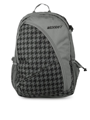 Wildcraft Unisex Grey Printed Backpack