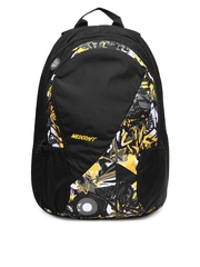 Wildcraft Unisex Black & Yellow Backpack