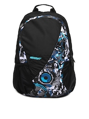 Wildcraft Unisex Black & Blue Backpack