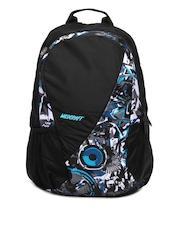 Wildcraft Unisex Black & Blue Backpack