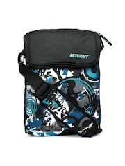 Wildcraft Unisex Black & Blue Zero HipHop Laptop Bag