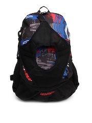 Wildcraft Unisex Black & Red Backpack