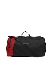 Wildcraft Unisex Black & Red Combat Duffle Bag